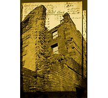 Prison Wall Photographic Print