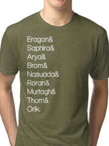 Character List Eragon Alternate Tri-blend T-Shirt