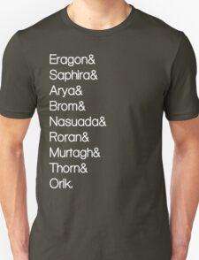Character List Eragon Alternate Unisex T-Shirt