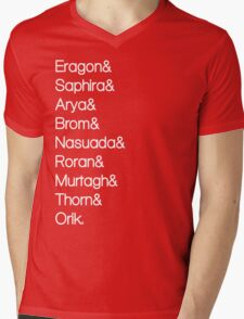 Character List Eragon Alternate Mens V-Neck T-Shirt