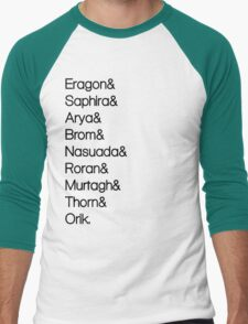 Character List Eragon Men's Baseball ¾ T-Shirt