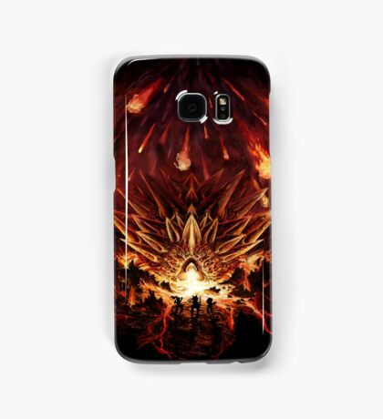 Chrono Trigger: Fire Rains from the Heavens [Chronicles of Time] Samsung Galaxy Case/Skin