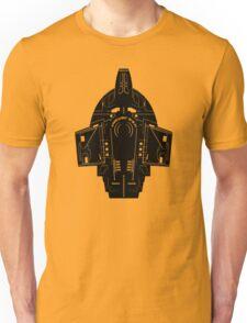 Star Trek Stencil - USS Defiant Unisex T-Shirt