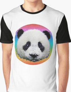 Rainbow panda Graphic T-Shirt