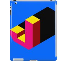 Letter J Isometric Graphic iPad Case/Skin