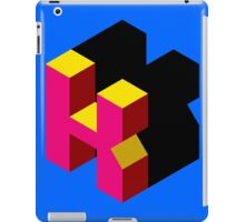 Letter K Isometric Graphic iPad Case/Skin