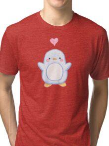 Sweet Little Penguin  Tri-blend T-Shirt