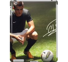 Ronaldo signature iPad Case/Skin