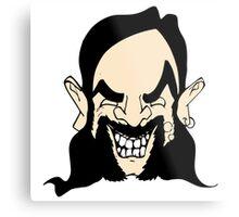 Cartoon Lemmy Metal Print