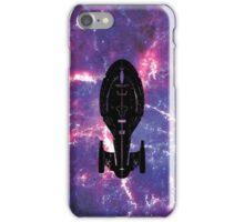 Star Trek Stencil - USS Voyager iPhone Case/Skin