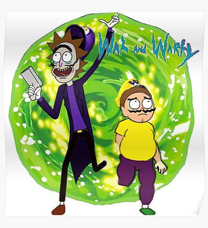 Wah and Warty Poster