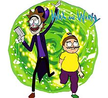 Wah and Warty Photographic Print