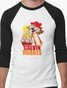 calvin and hobbes Men's Baseball ¾ T-Shirt