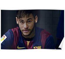 Neymar Da silva junior Poster