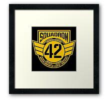 Squadron 42 Framed Print
