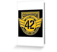 Squadron 42 Greeting Card