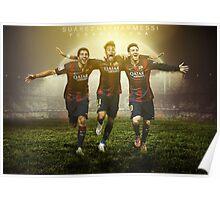 Trio MSN Barcelona Poster