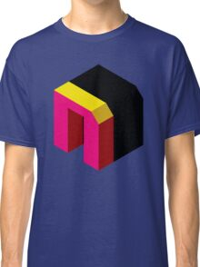 Letter N Isometric Graphic Classic T-Shirt