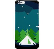 Starry Night Camping iPhone Case/Skin