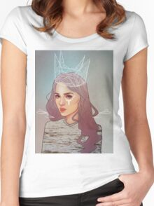 QUEEN II Women's Fitted Scoop T-Shirt