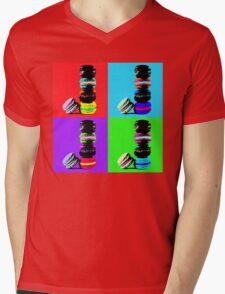 Macaron Pop Art Mens V-Neck T-Shirt