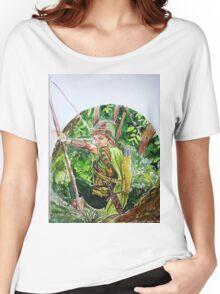 ROBIN HOOD Women's Relaxed Fit T-Shirt