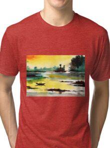 Good Evening 1 Tri-blend T-Shirt