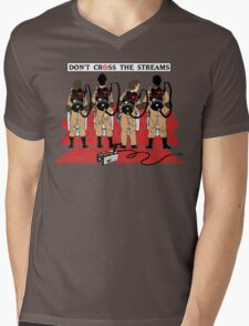 Ghostbusters Quotes Mens V-Neck T-Shirt