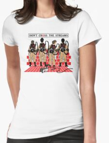 Ghostbusters Quotes Womens Fitted T-Shirt