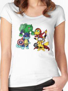 pokemon Women's Fitted Scoop T-Shirt