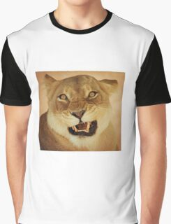 angry lioness Graphic T-Shirt