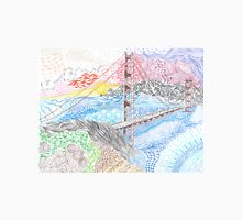 Golden Gate Bridge Zentangle Unisex T-Shirt