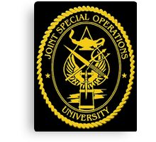 Joint Special Operations University Emblem Canvas Print