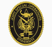 Joint Special Operations University Emblem Kids Tee