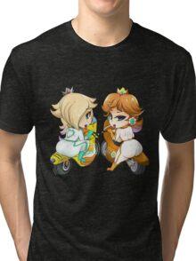 Zero Suit Princesses Tri-blend T-Shirt