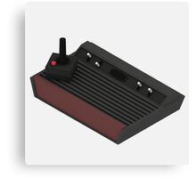 Atari 2600 Console - Isometric Canvas Print