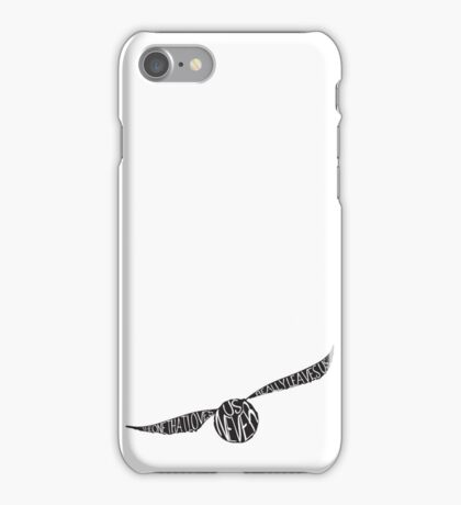 Snitch Typography iPhone Case/Skin