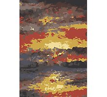 Abstract Sunset Water 1 Photographic Print