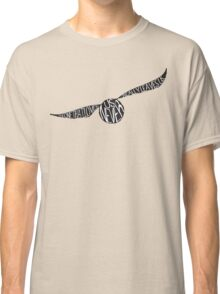 Snitch Typography Classic T-Shirt