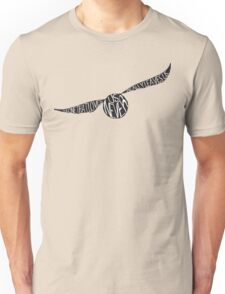 Snitch Typography Unisex T-Shirt