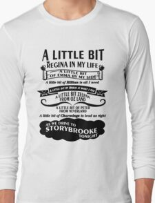 Oncer Song. OUAT Song. Long Sleeve T-Shirt