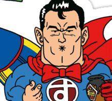 Dr. Slump Supermen Sticker