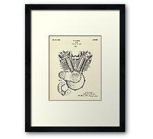 Engine-1923 Framed Print