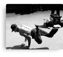 Paris Street Dancer Canvas Print