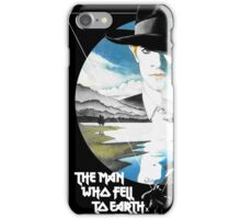 The Man Who Fell to Earth - Bowie iPhone Case/Skin