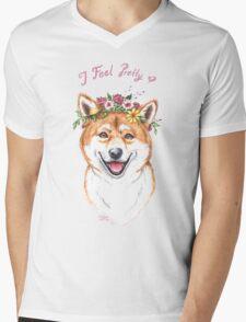 I Feel Pretty Mens V-Neck T-Shirt