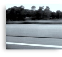 Highway Blur Canvas Print