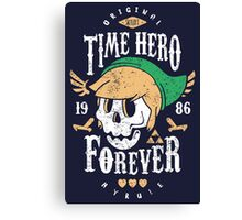 Time Hero Forever Canvas Print