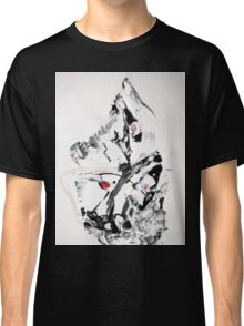 The Moving Finger - Original Wall Modern Abstract Art Painting Classic T-Shirt
