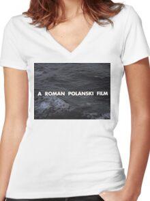 A Roman Polanski film Women's Fitted V-Neck T-Shirt